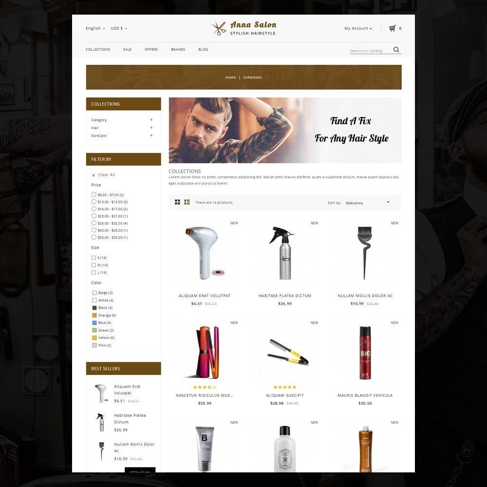 theme - Saúde & Beleza - Anna Salon Store - 3