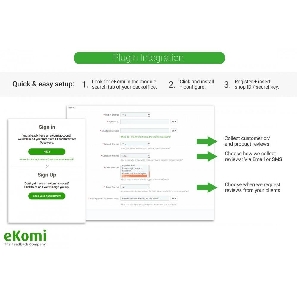 module - Avis clients - Avis et évaluations eKomi - 1