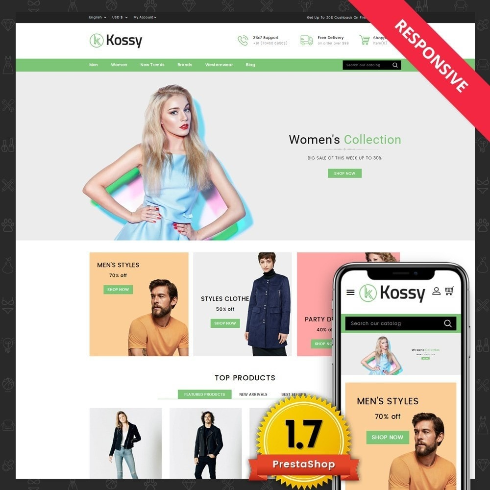 Kossy - Fashion Store
