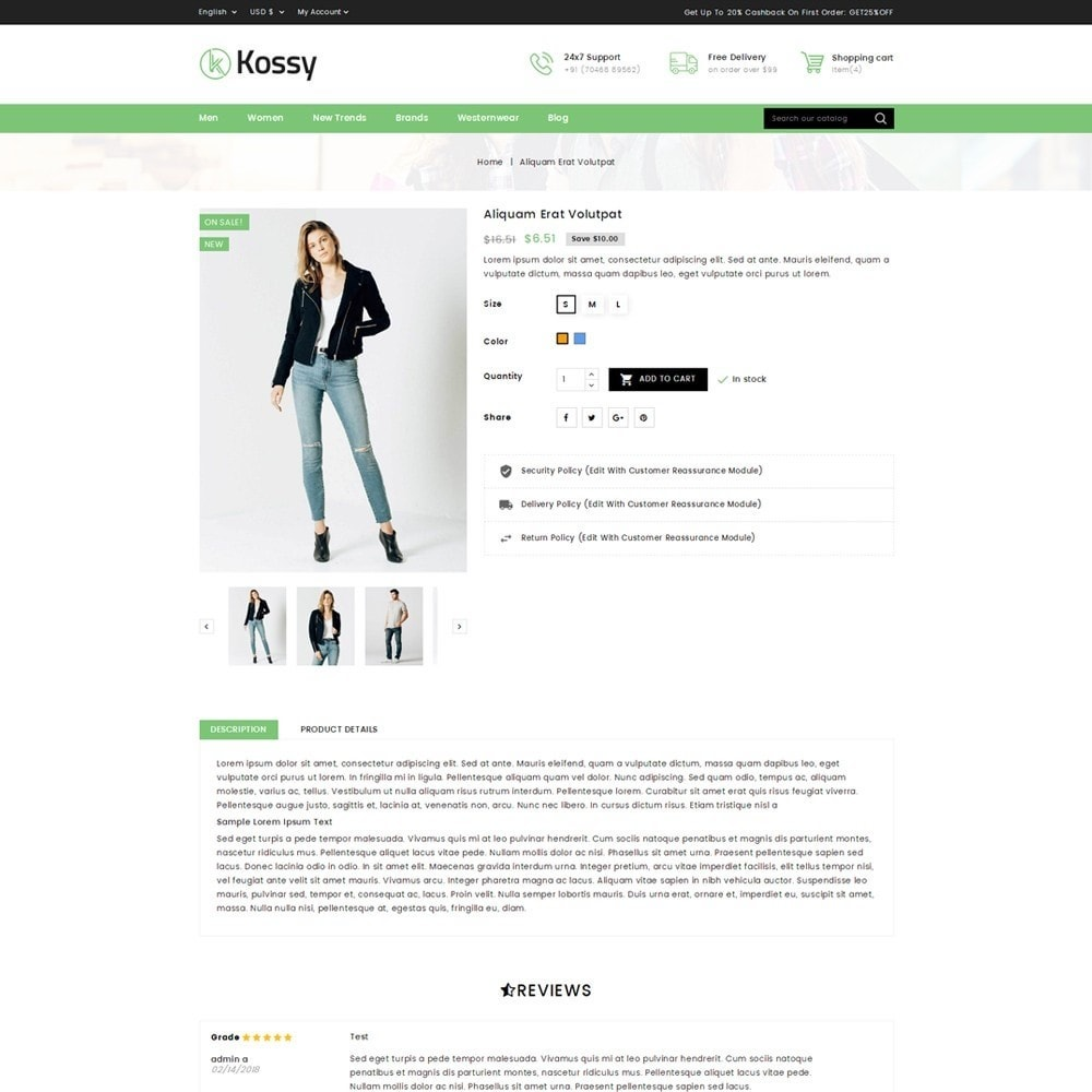 theme - Mode & Schuhe - Kossy - Fashion Store - 6