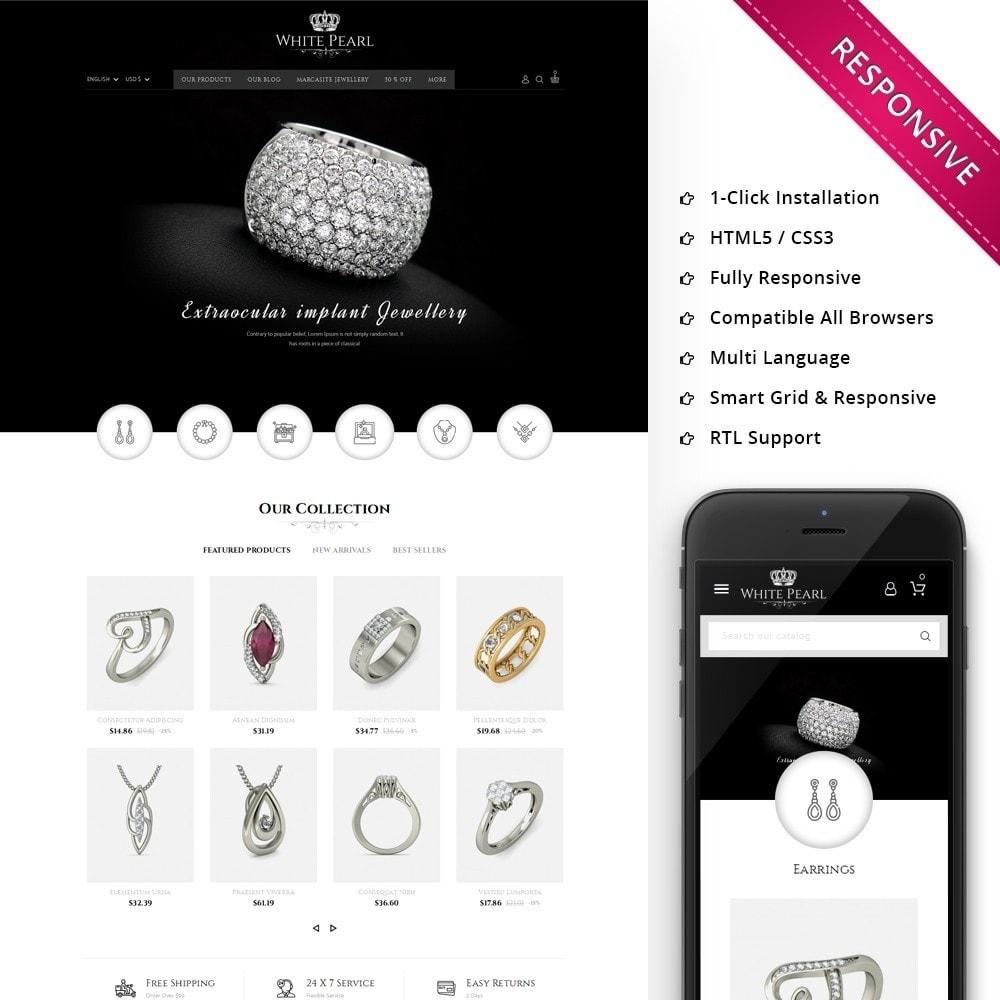 White pearl Jewellery Shop