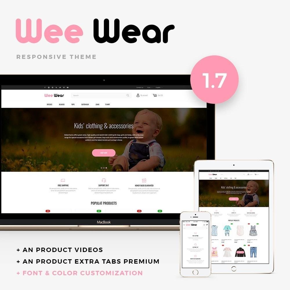 theme - Zabawki & Artykuły dziecięce - Wee Wear - 1