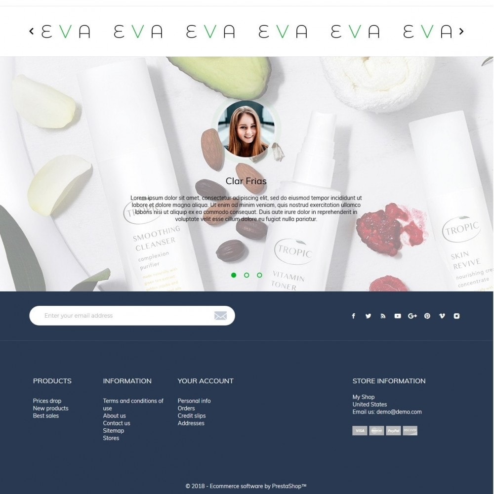 theme - Saúde & Beleza - Eva Cosmetics - 4