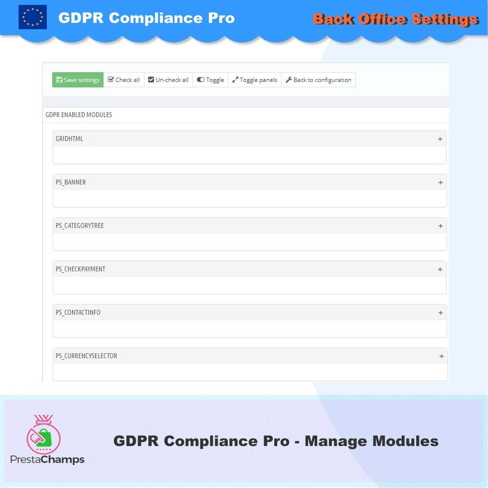 module - Администрация - GDPR Compliance Pro - 2020 Enhanced Edition - 27
