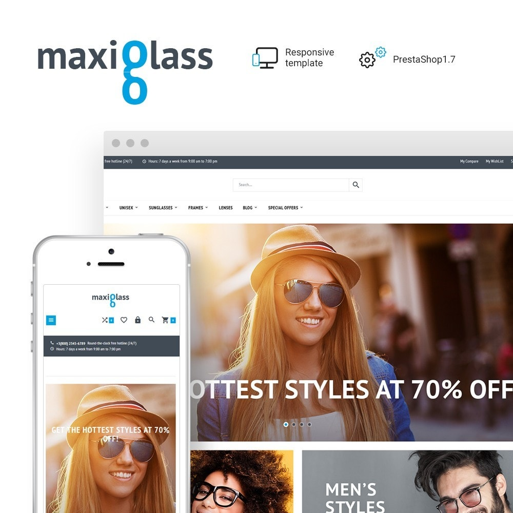 MaxiGlass - Optometric Store