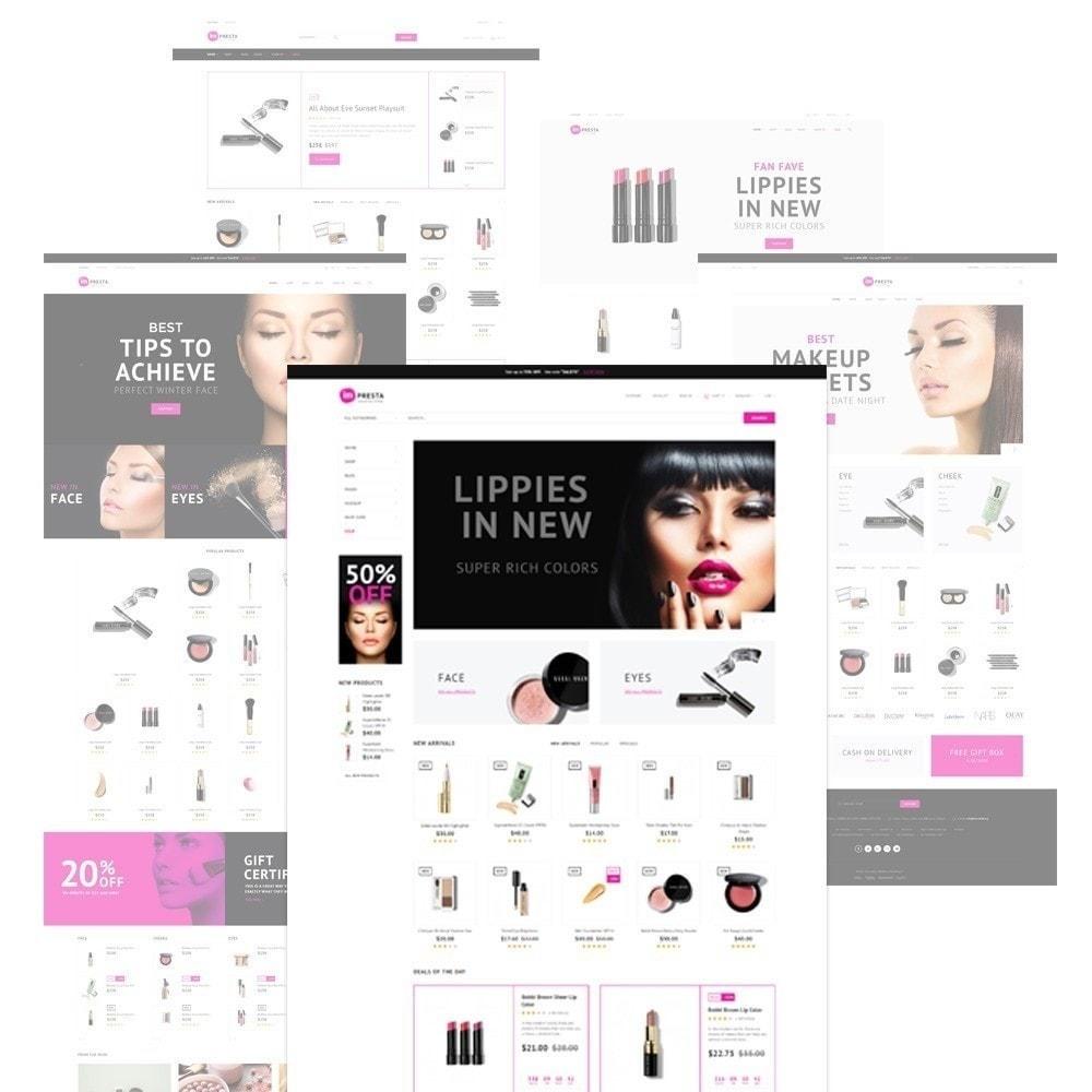 Impresta - шаблон для магазина косметики