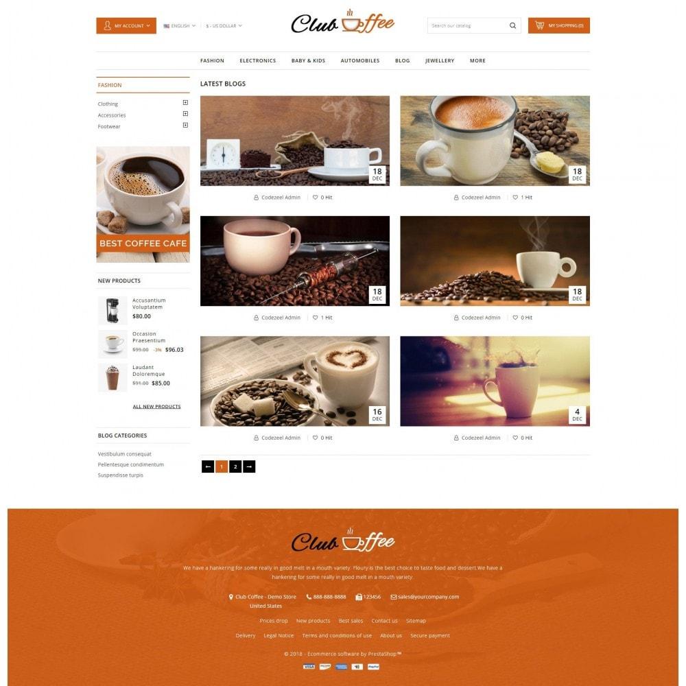 theme - Eten & Restaurant - Club Coffee Shop - 9