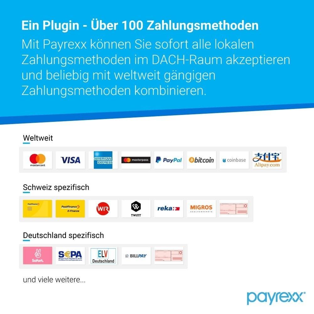 module - Zahlung per Kreditkarte oder Wallet - Payrexx Payment Gateway - 1