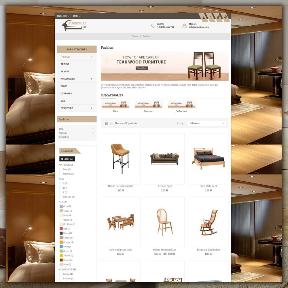 theme - Casa & Jardins - Furniture Shop - 3