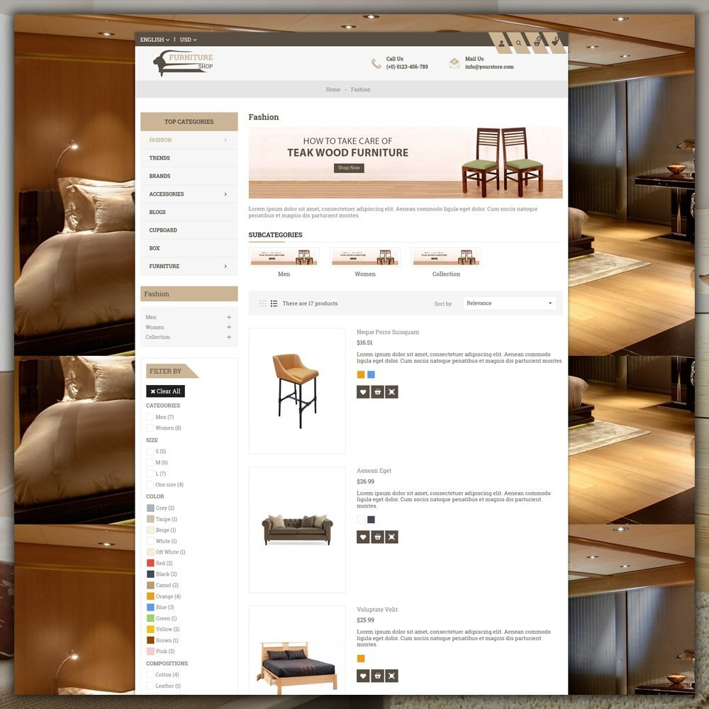 theme - Casa & Jardins - Furniture Shop - 5