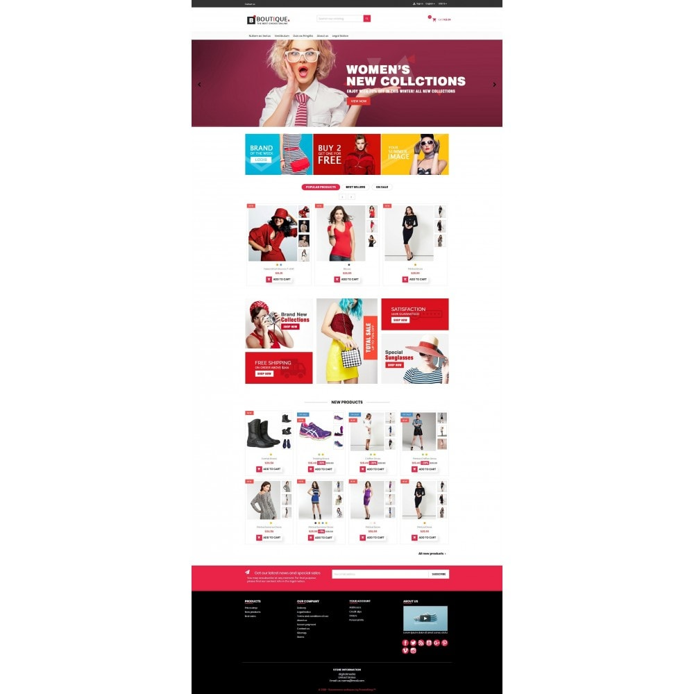 theme - Fashion & Shoes - Boutique Fashion Mutlipurpose Premium DFX006 - 2