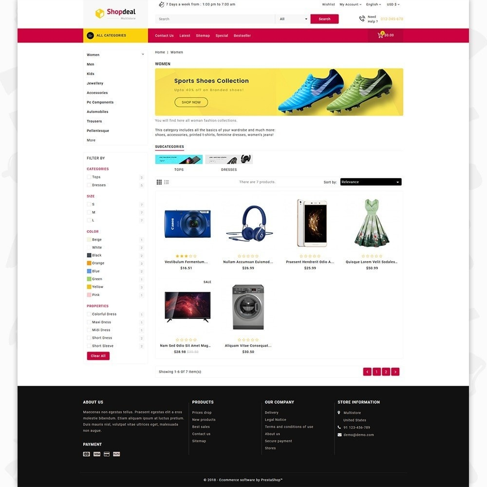 Shopdeal - The Multistore Template