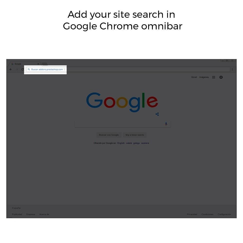 module - SEO (Indicizzazione naturale) - Google Sitelink Searchbox - 4