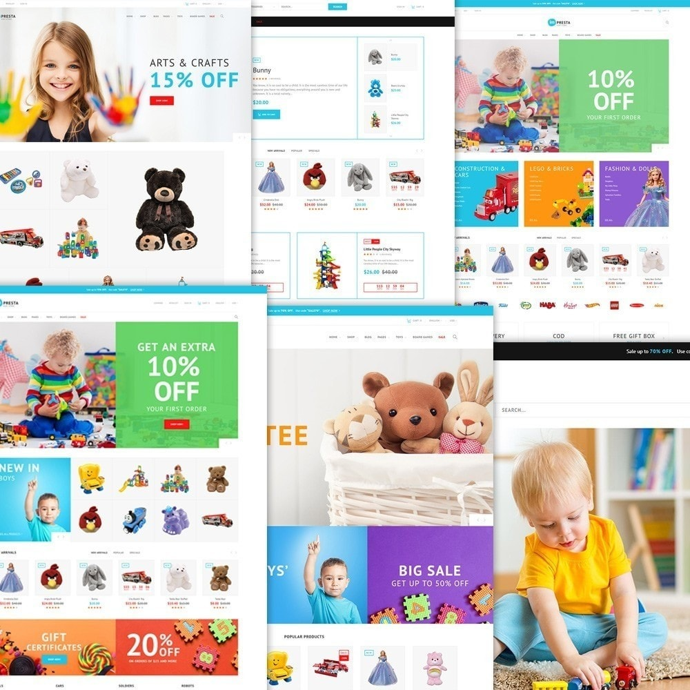 Impresta - Kids Store