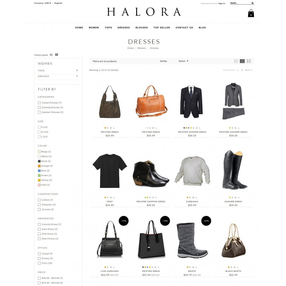 theme - Moda & Obuwie - Halora Fashion Store - 5