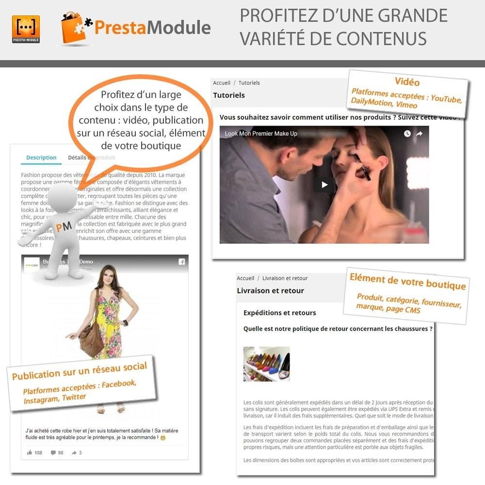 module - Personnalisation de Page - Advanced Shortcode - 2