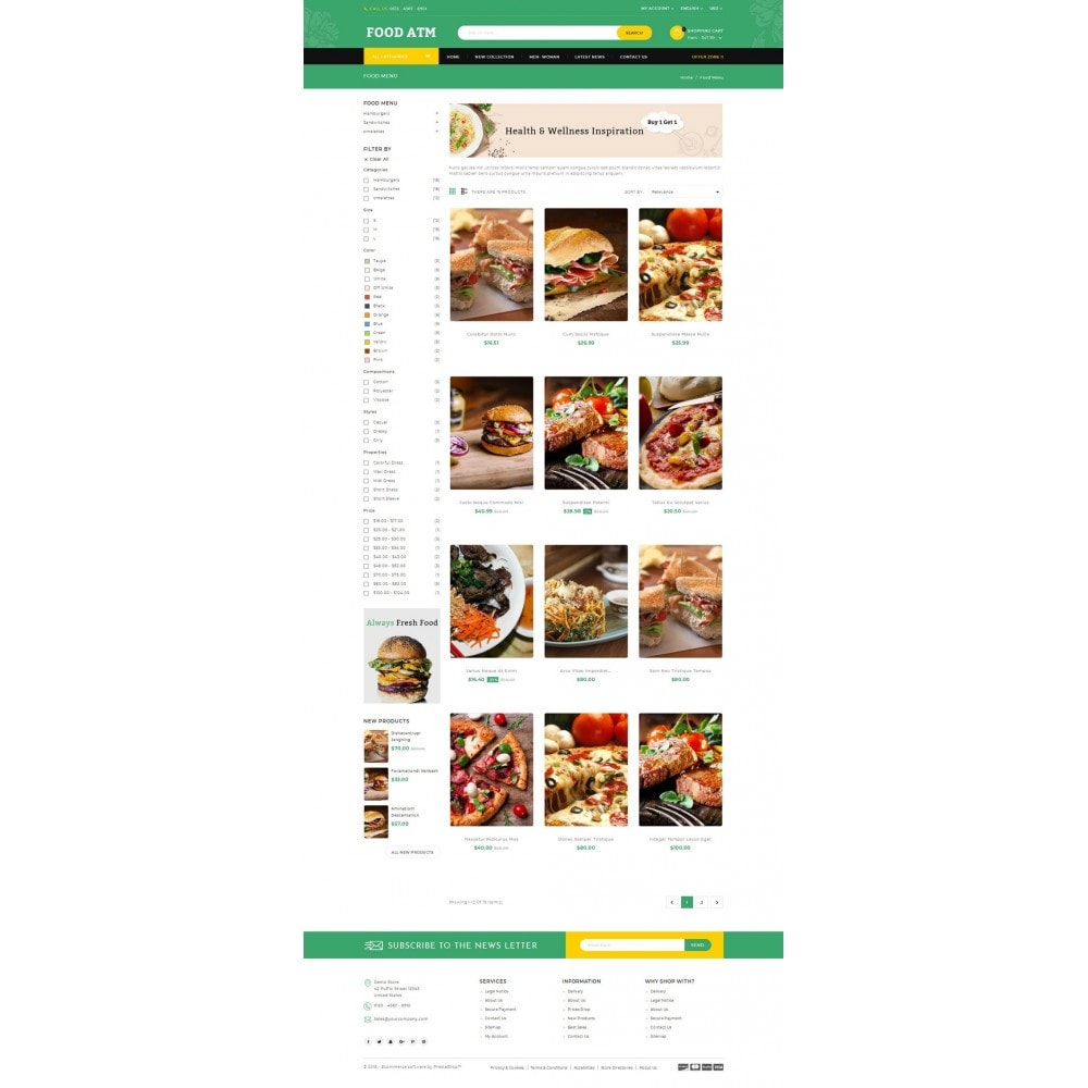 theme - Lebensmittel & Restaurants - Food ATM - Restaurant Store - 3