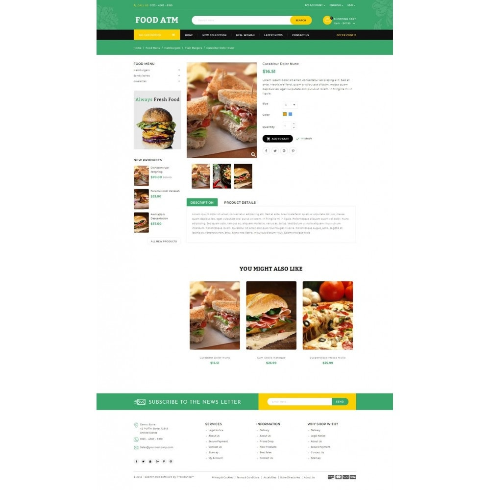 theme - Lebensmittel & Restaurants - Food ATM - Restaurant Store - 4