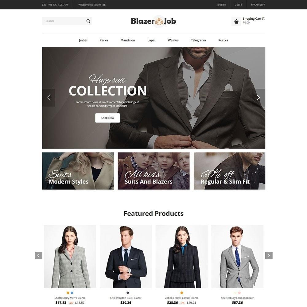 theme - Мода и обувь - Blazerjob Fashion Store - 2