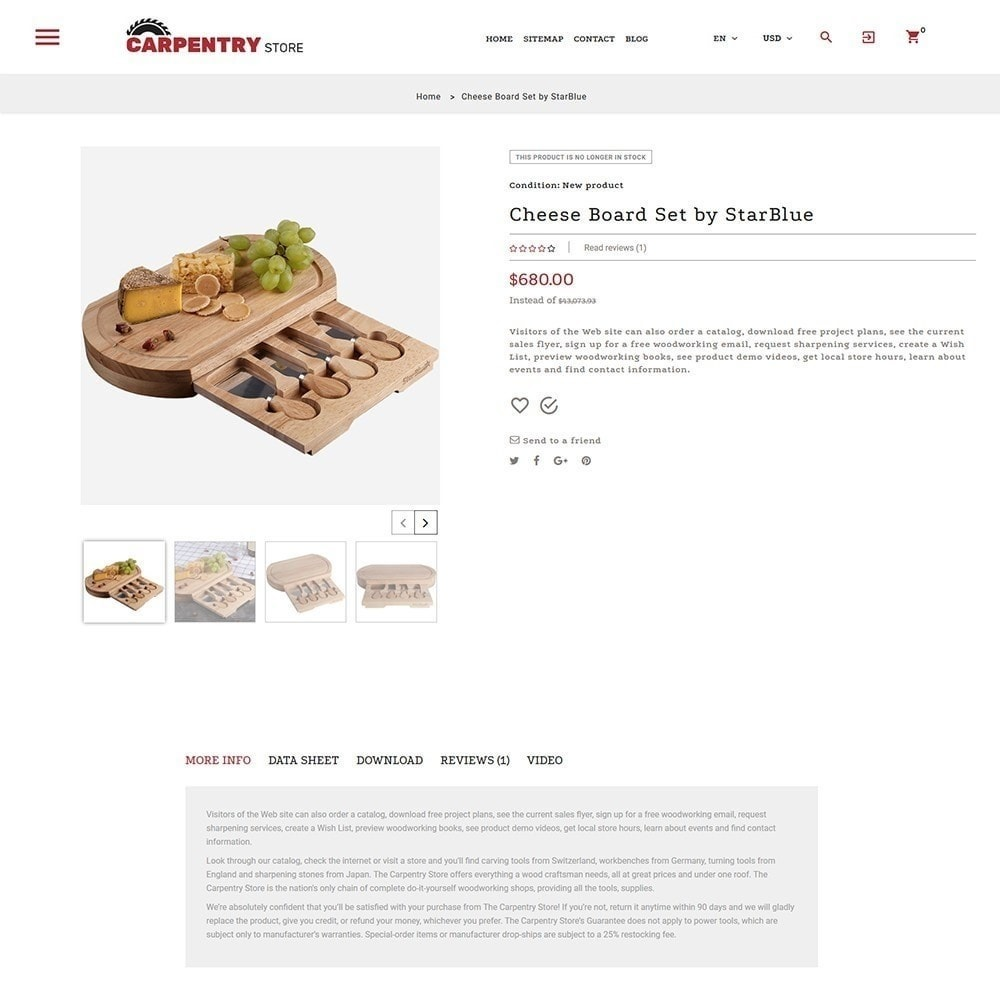 theme - Casa & Giardino - Carpentry Store - 4