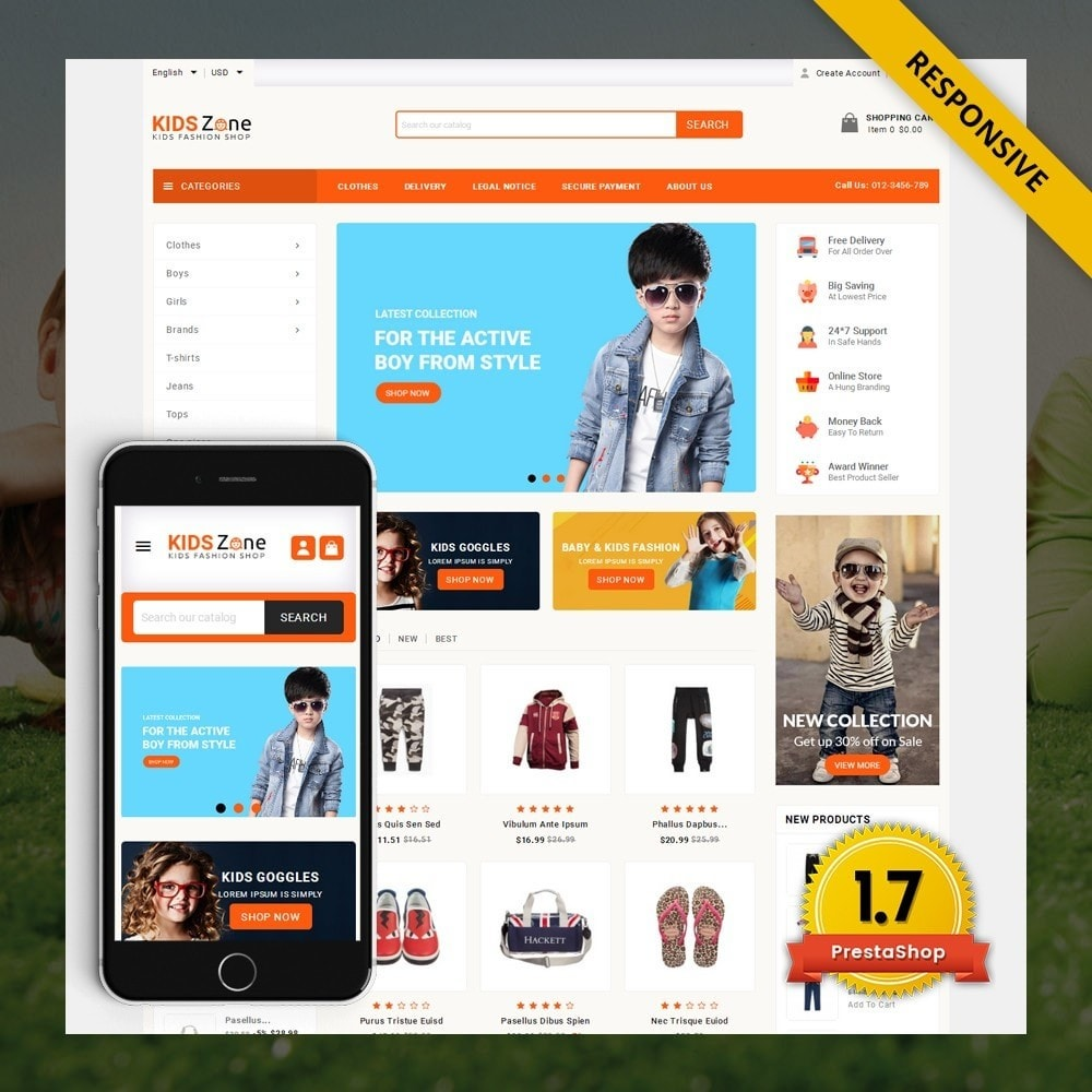 KidsZone  - Kids Fashion Store