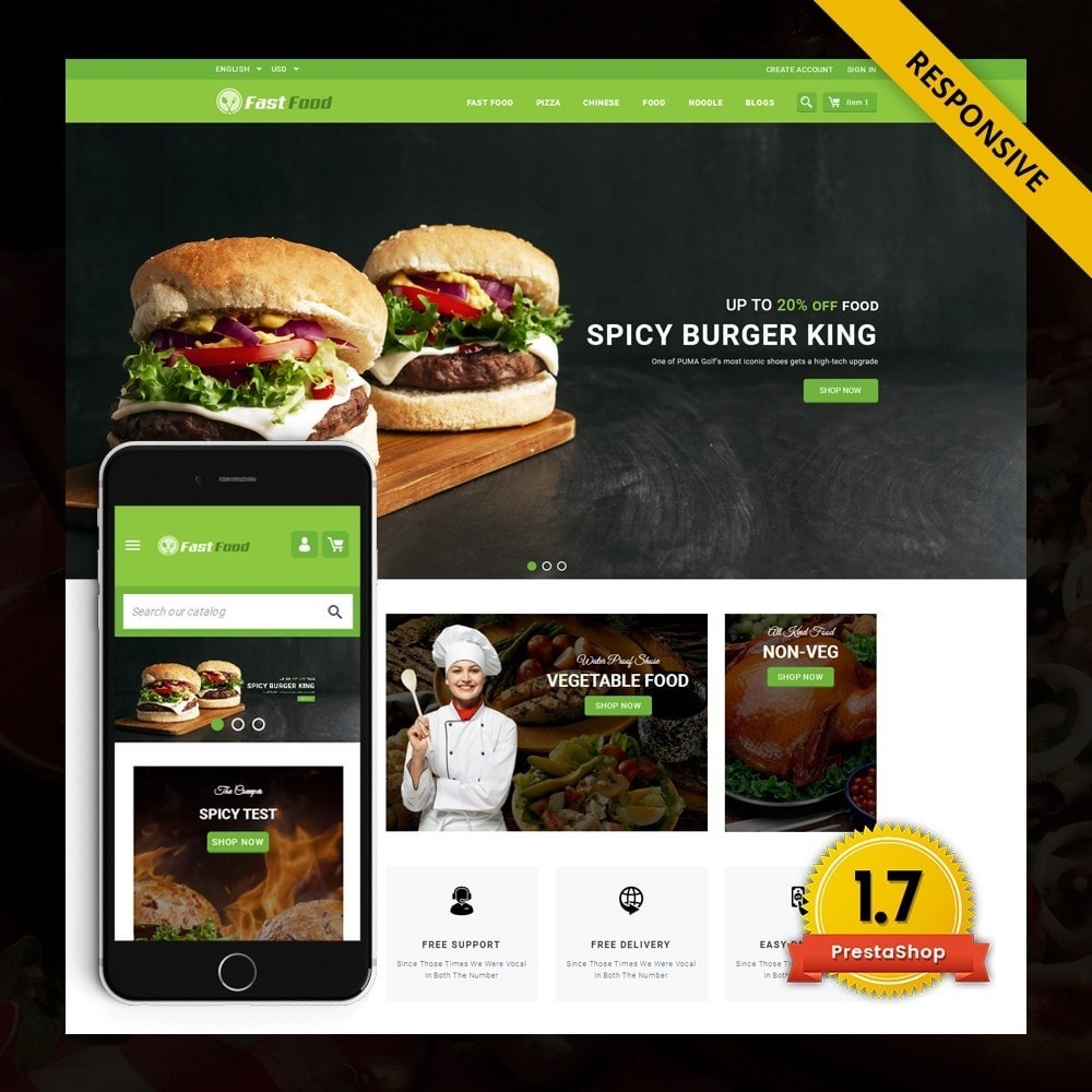 FastFood - Food Store