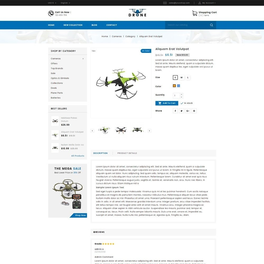 Drone Online Store