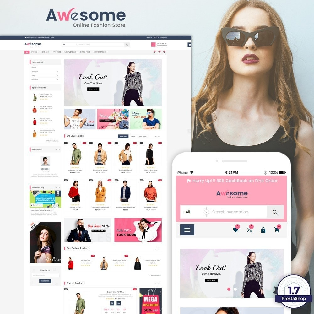 Awesome – Fashion Super Store v3