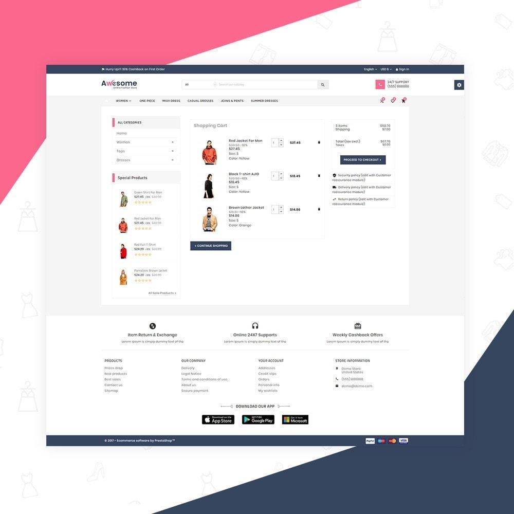 theme - Moda & Obuwie - Awesome High Status Fashion Super Store v3 - 6