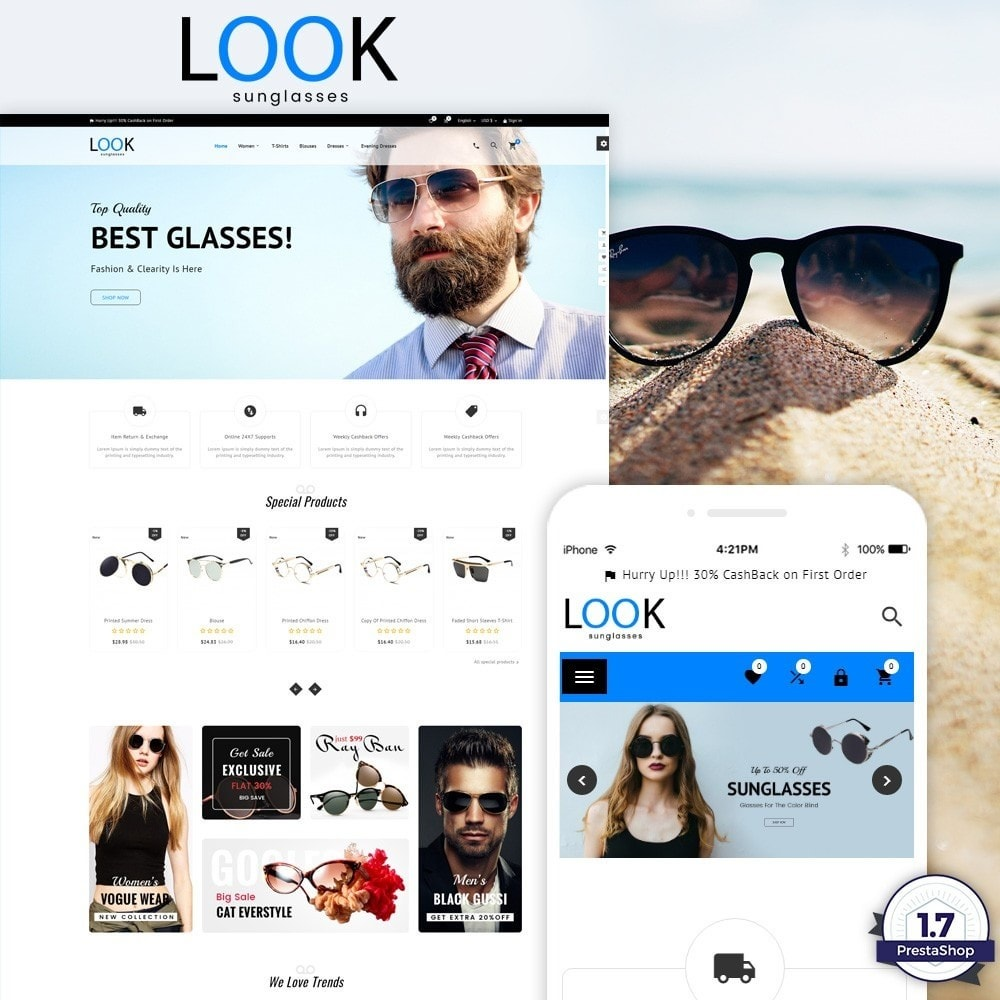 theme - Искусство и Культура - Look – Goggles Super Store - 1