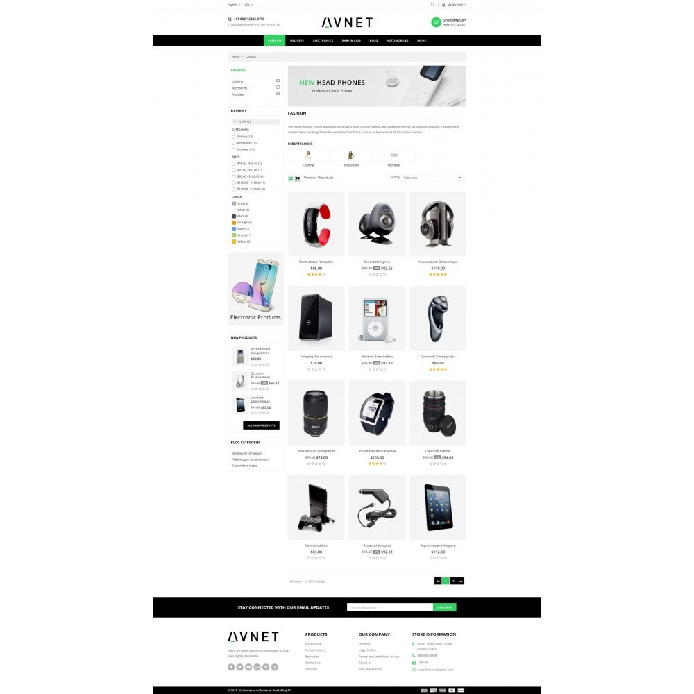 Avnet - Electronics Store