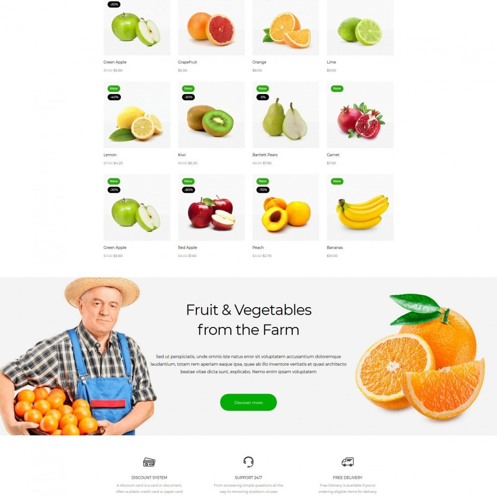theme - Food & Restaurant - Grofers - 3