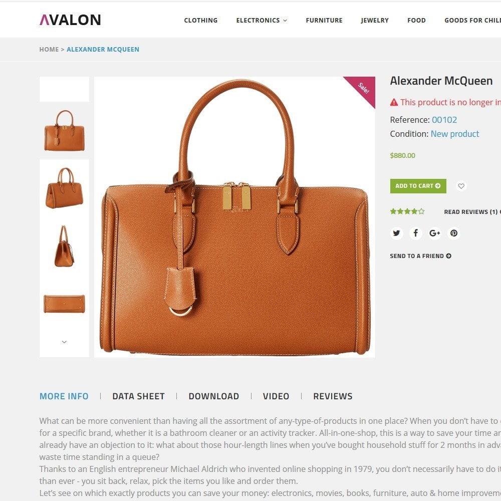 theme - Fashion & Shoes - Avalon - Wholesale Store - 3