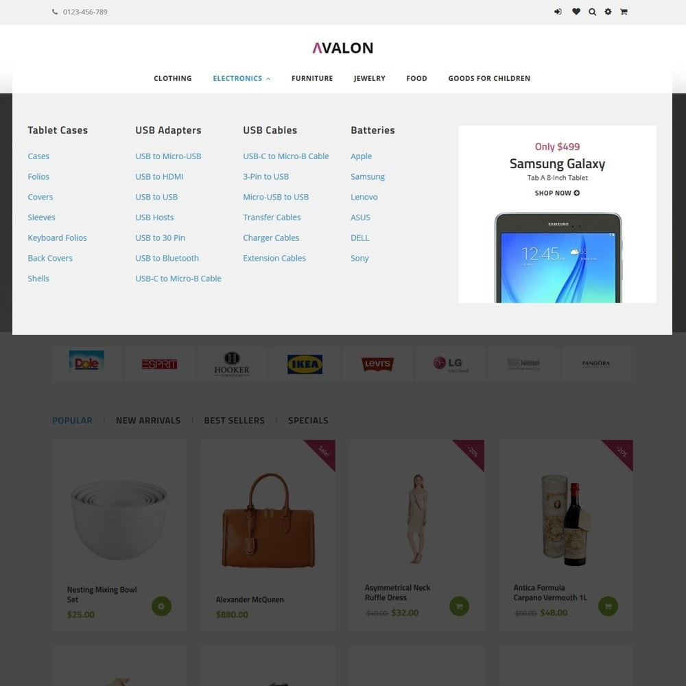 theme - Mode & Chaussures - Avalon - Wholesale Store - 5