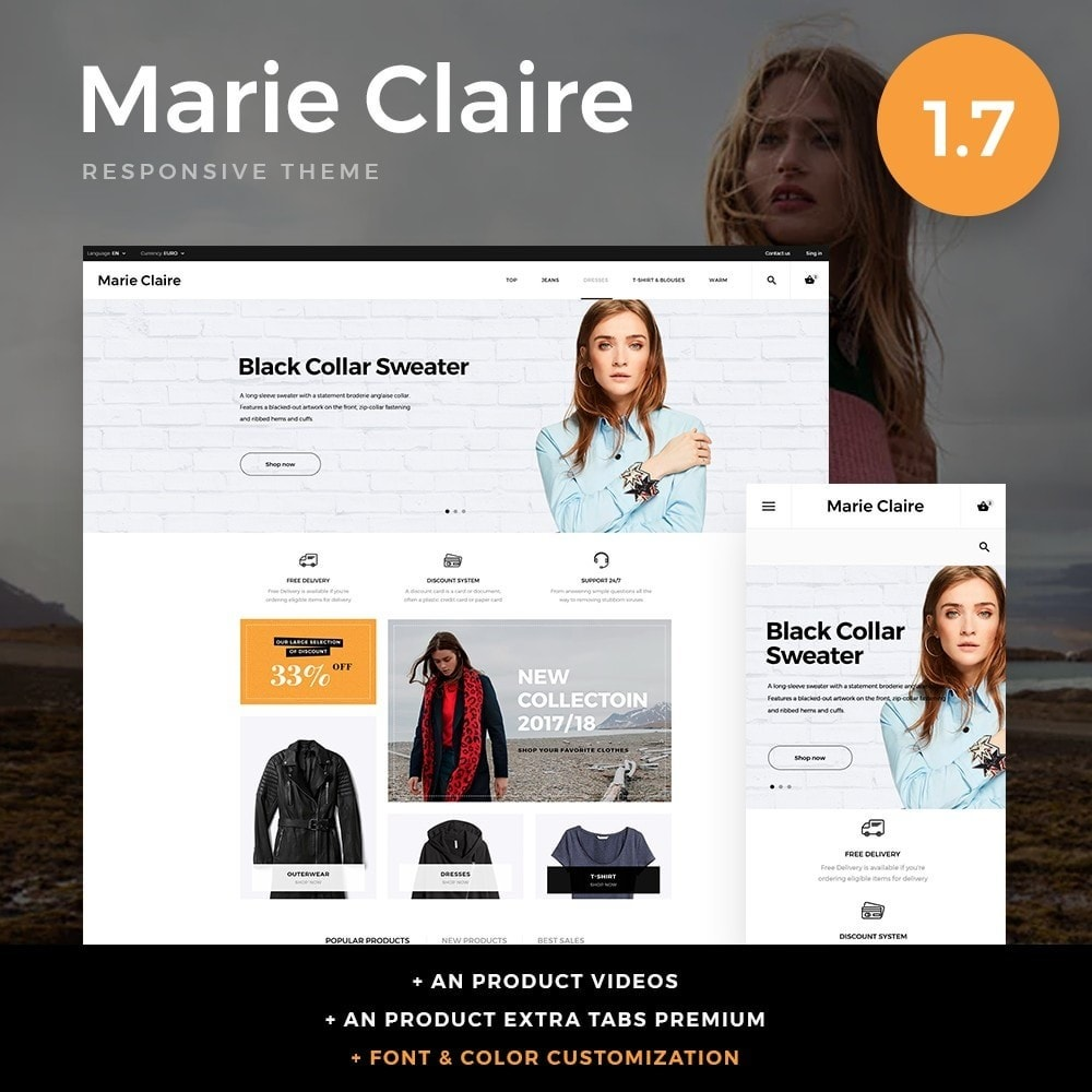 theme - Moda & Calzature - Marie Claire Fashion Store - 1