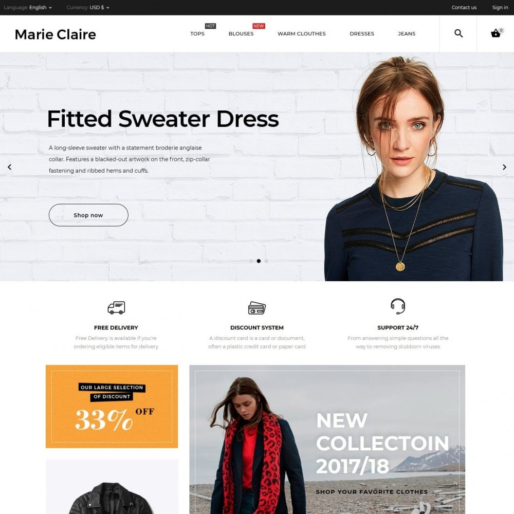 Marie Claire Fashion Store