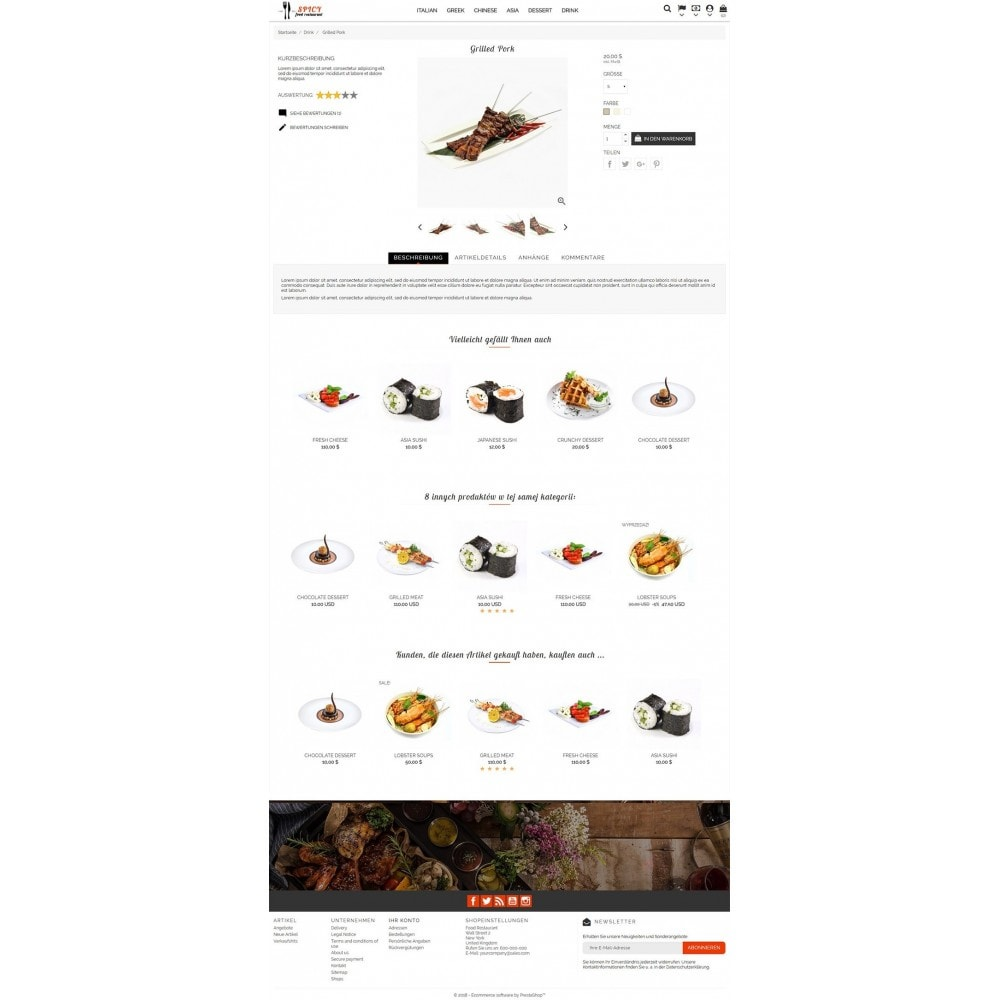 theme - Lebensmittel & Restaurants - Spicy Restaurant - 3