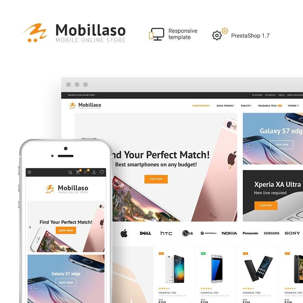 theme - Electronics & Computers - Mobillaso - Mobile Store - 1