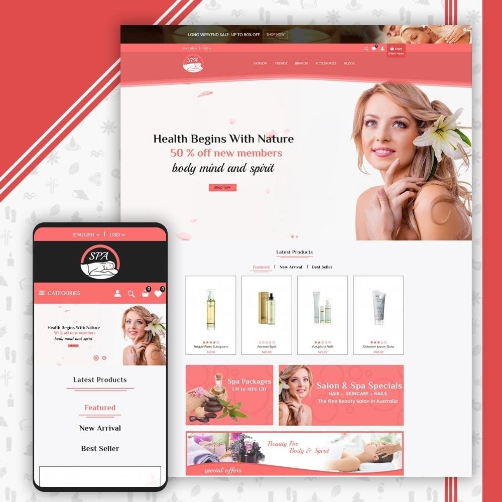 theme - Gezondheid & Schoonheid - Spa Shop - 1