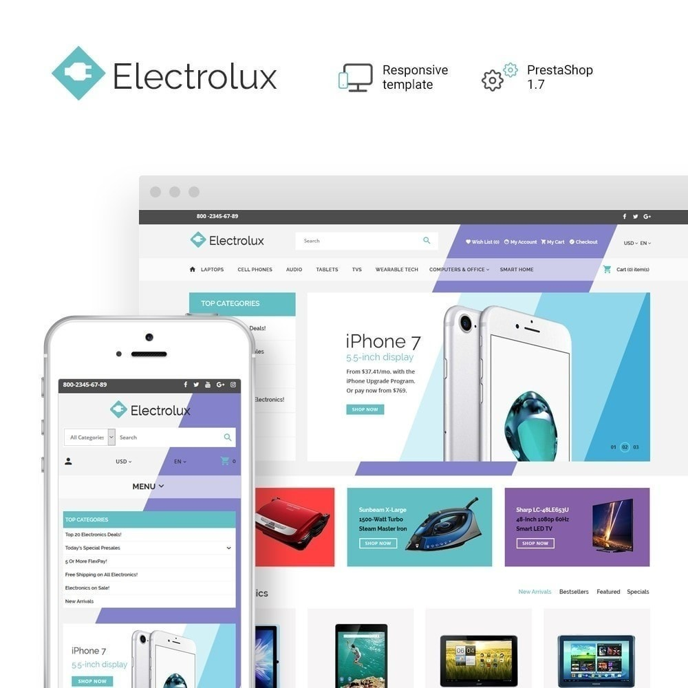 theme - Electronique & High Tech - Electrolux - 2