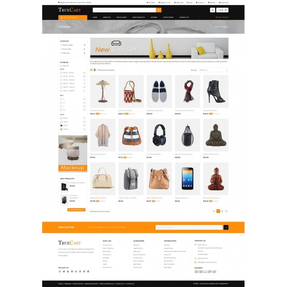 TrueCart - Multipurpose Store