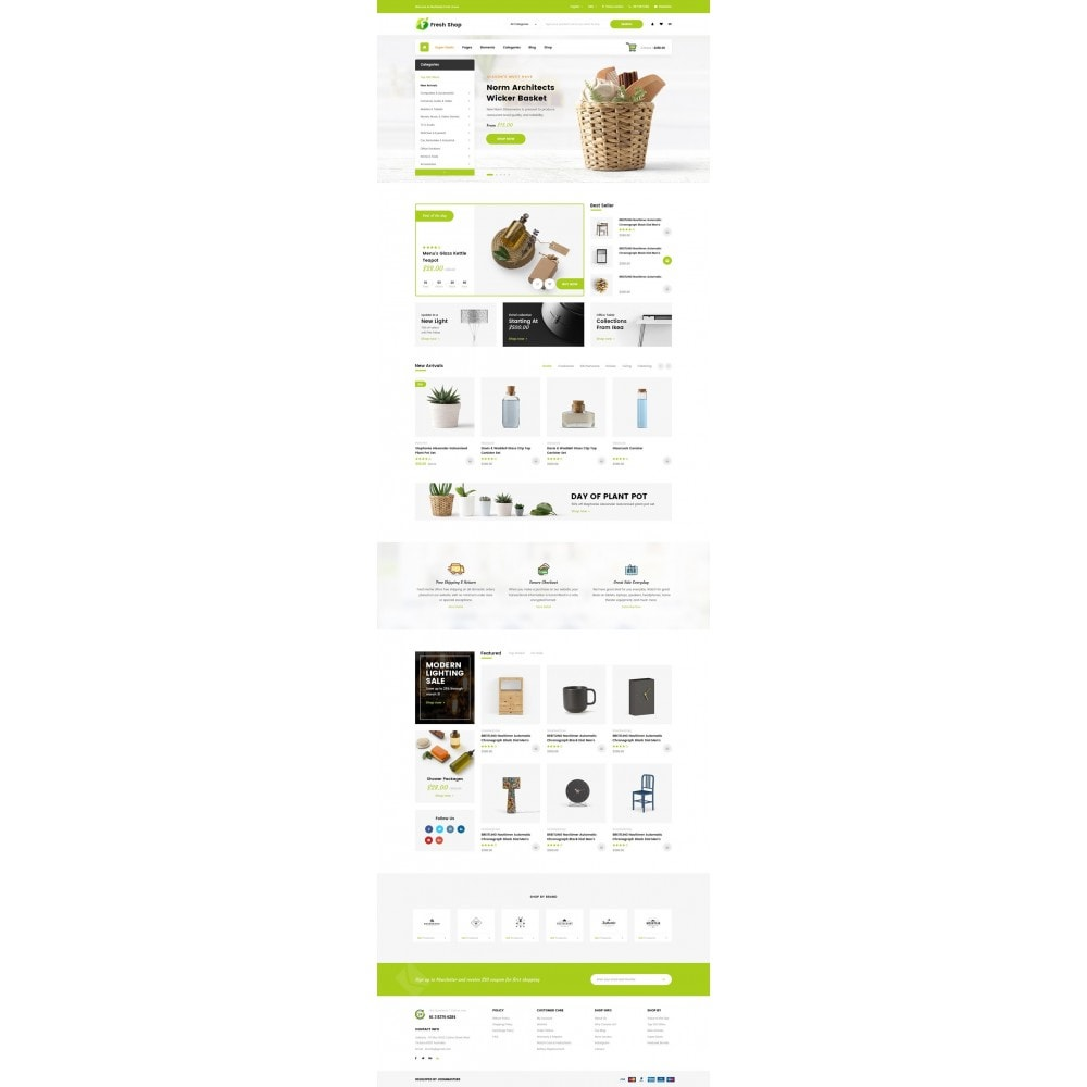 theme - Home & Garden - JMS FreshShop - 6