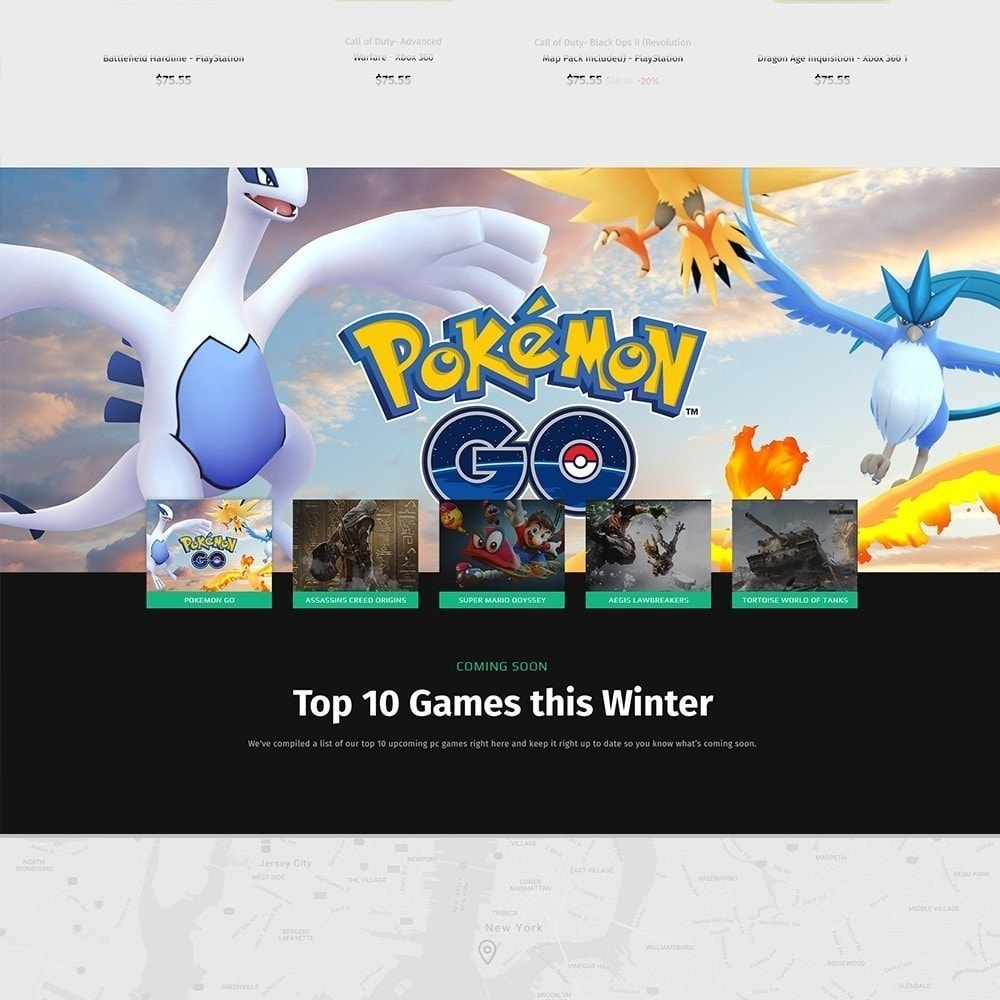theme - Electrónica e High Tech - Geek - Game Store - 7