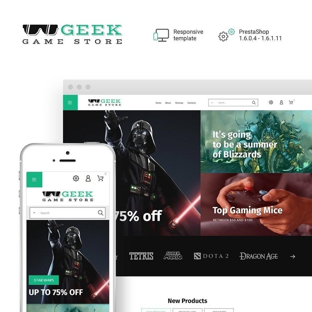 Geek - Game Store
