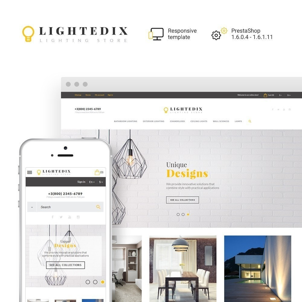 theme - Hogar y Jardín - Lightedix - Lighting Store - 2