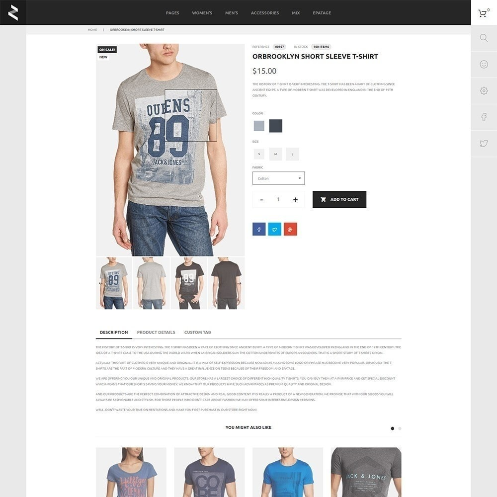 theme - Mode & Chaussures - T-Store - 3
