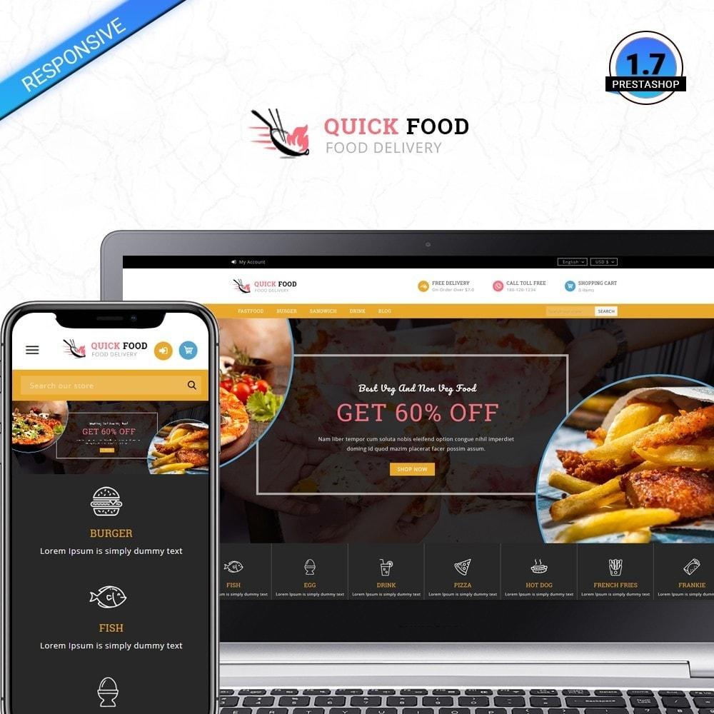 QuickFood - Online Food Store