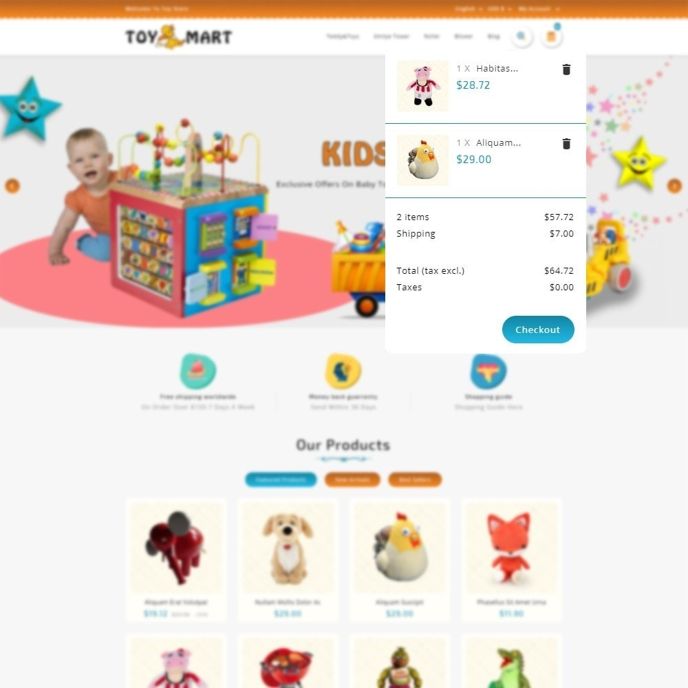 theme - Kids & Toys - ToyMart - Toy Store - 6