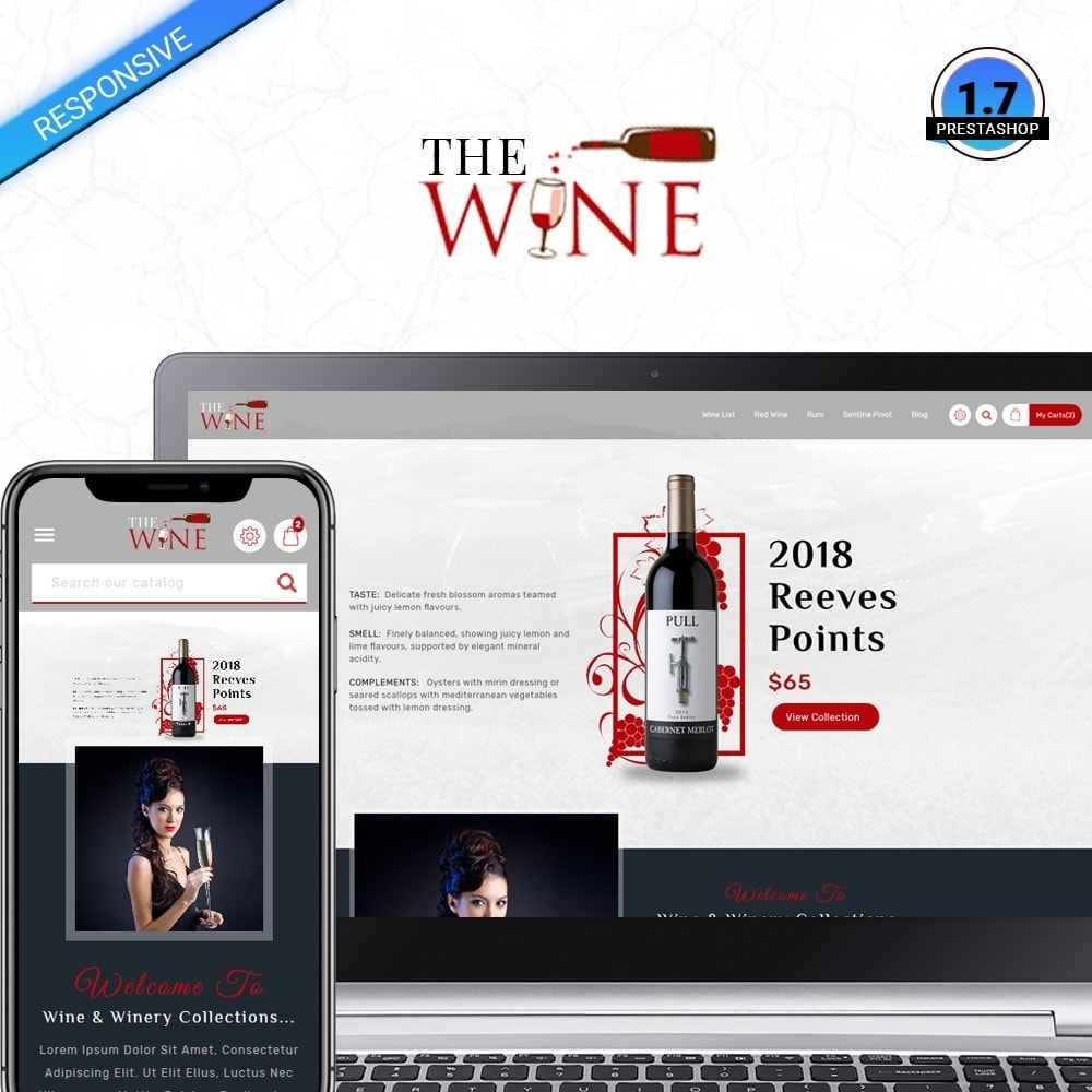 theme - Drink & Wine - TheWine - Wine Store - 1