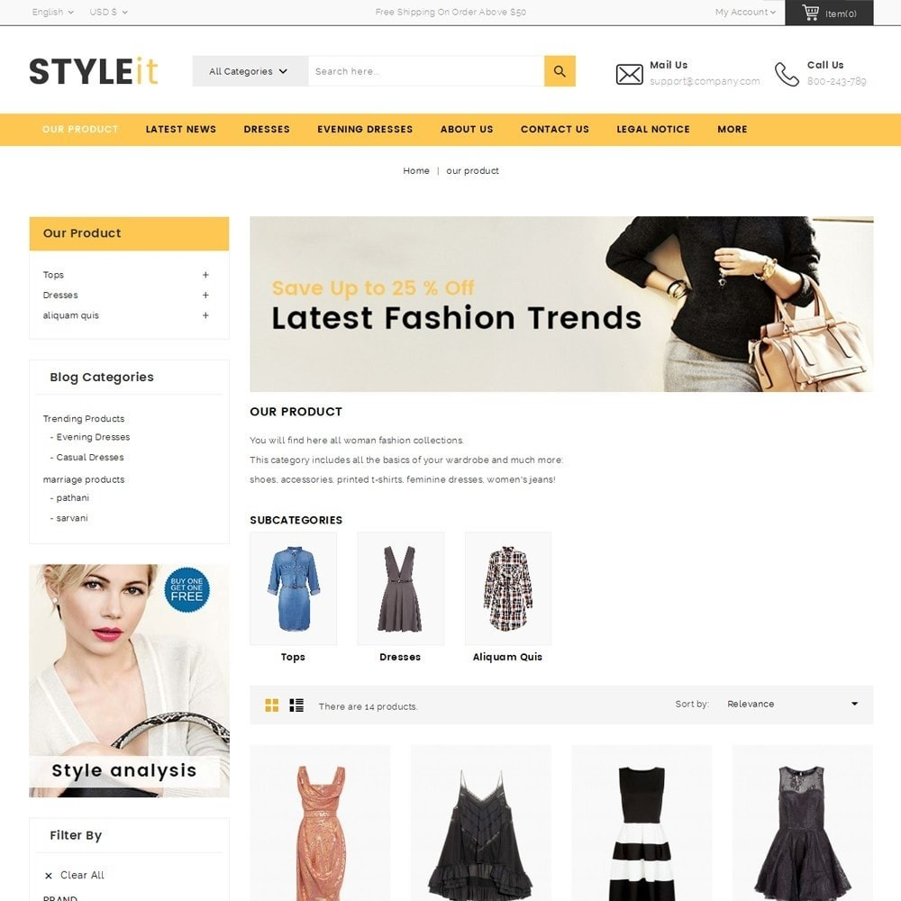 theme - Mode & Schoenen - Styleit Fashion Store - 4